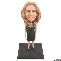 3D Foto Figur Frau Geschenk