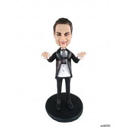 Lustige personalisierte 3D Comicfigur vom Foto Vampir