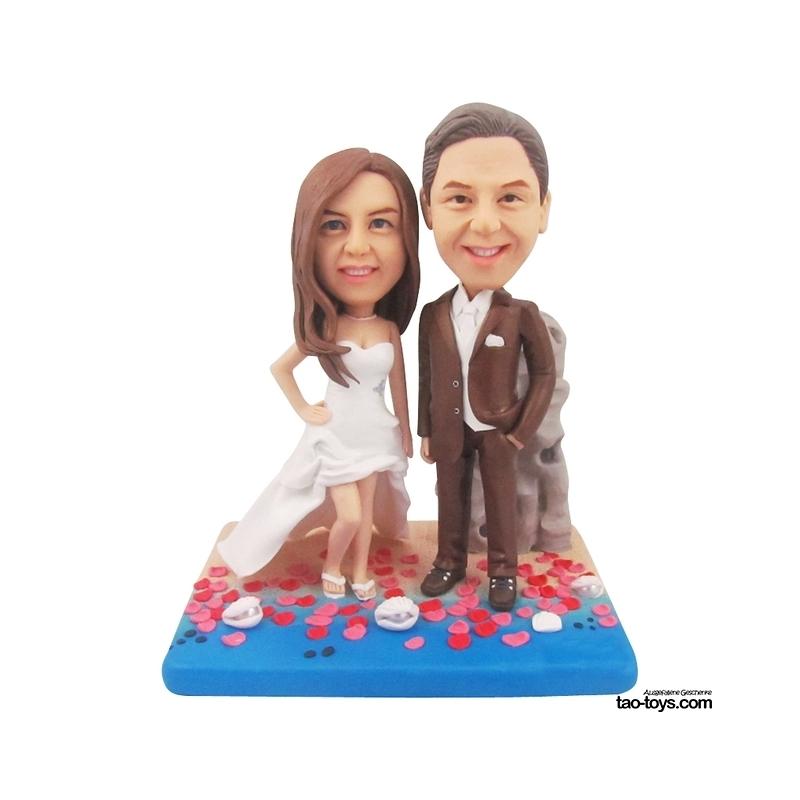 Personalisierte Hochzeitstorten Figuren