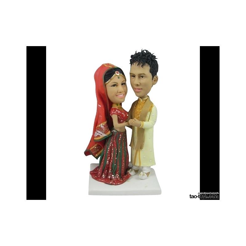 Personalisierte Hochzeitstortenfiguren Individuell