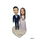 Personalisierte Hochzeitstortenfiguren für Liebespaar Hochzeitstorte Figur