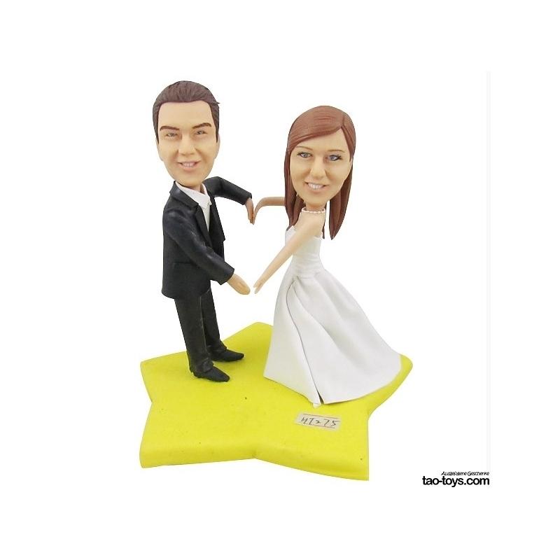 Personalisierte Hochzeitstortenfiguren Fuer Liebespaar Hochzeitstorte
