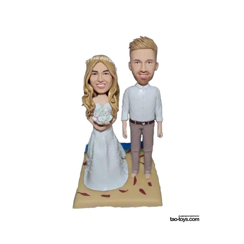 Personalisierte Hochzeitstortenfiguren Hochzeitstorte