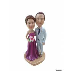 Personalisierte Hochzeitstortenfiguren Liebespaar Hochzeitstorte Figuren