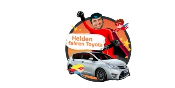 """""""Superhelden fahren Toyota""""-Figuren unterstützt von Tao-Toys.com"""