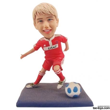 3D personaliserte Mini Me Figur Fussballer