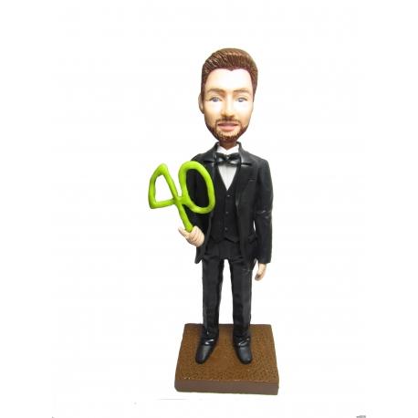 Personalisierte 3D Comicfigur vom Foto 40 Jahr Anlass
