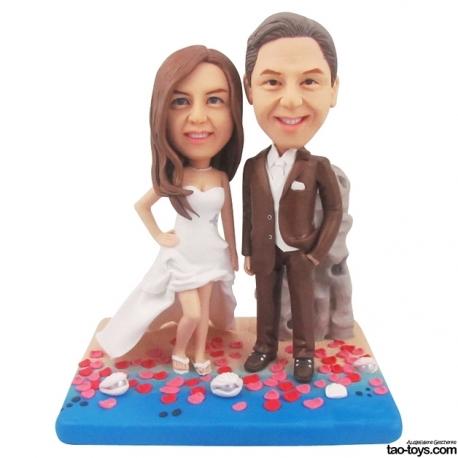 personalisierte Hochzeitstortenfiguren