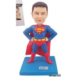 3D Figur mit eignen Gesicht Superman