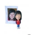 3D Figur persönliche Geschenke Schlüsselanhänge individuelle geschenke für Frauen