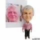 3D Figur persönliche Geschenke Schlüsselanhänge Geschenke zum 50. Geburtstag