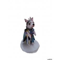3D Figur persönliche Geschenke Prinzessin Hund