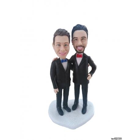 Personaliserte Tortenfiguren Schwule und Lesben homosexuell