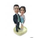 Personalisierte Hochzeitstortenfiguren für Liebespaar Hochzeitstorte Anlass