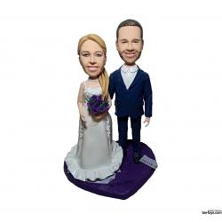 Personalisierte Hochzeitstortenfiguren Liebespaar Anlass