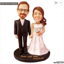 Personalisierte Hochzeitstortenfiguren Liebespaar Hochzeitstorte Anlass